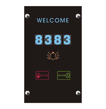 DIGITAL DOOR PLATE FOR HOTELS